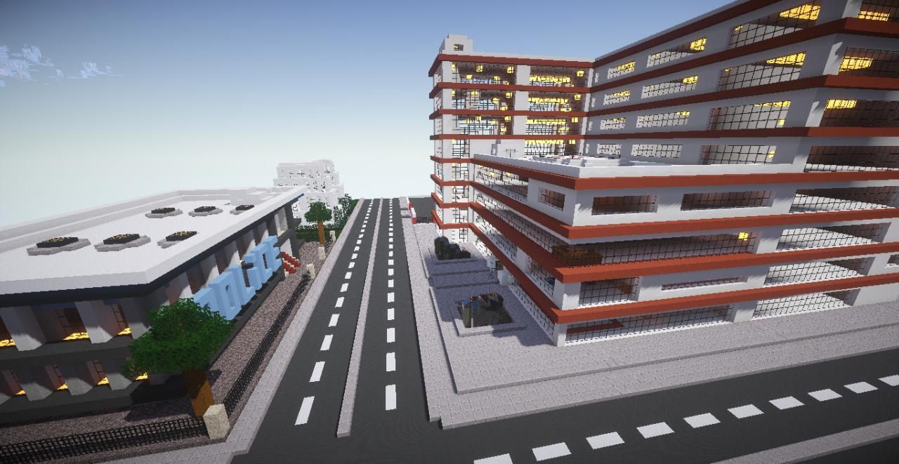 Jadelle City - Buildings Schematics Minecraft Blog