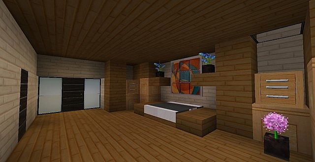 Modern House 172 Including Video Minecraft Project