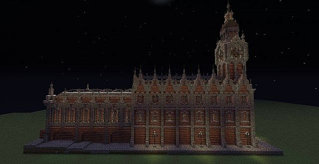 Victorian Train Station Minecraft Project