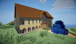Empty Big House Minecraft Map & Project