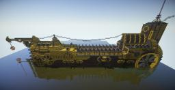 Brassheart (Massive Steampunk Ship with Download!) Minecraft Map & Project