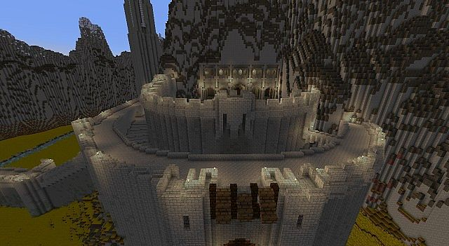 Helms Deep Minecraft