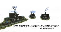 -Vital's Steampunk Idustrial BuildPack- Minecraft Map & Project