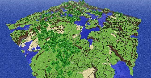 1.6.4] Minecraft Classic 0.30 Schematic Map Minecraft Project
