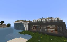 First Modern House Minecraft Map & Project
