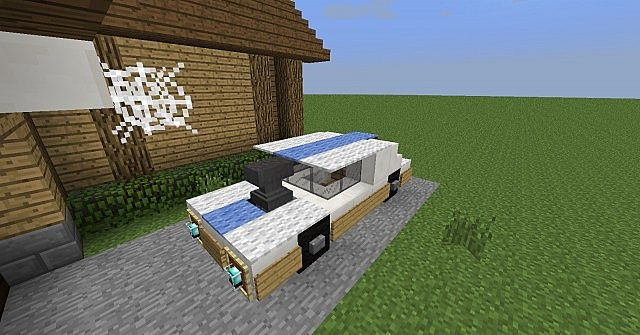 Awesome Car Design Minecraft Project