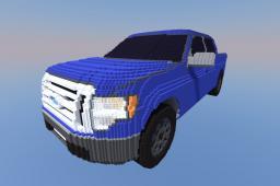 Ford F-150 super crew Minecraft Project
