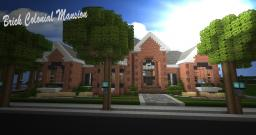 Brick Colonial Mansion [TAC] Minecraft Map & Project