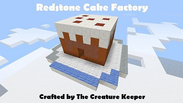 Redstone Cake Factory Monecraft