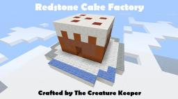 Redstone Cake Factory (with bonus Dispenser Factory) Minecraft Map & Project