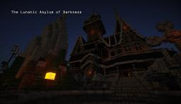 The Lunatic Asylum of Darkness ~ Halloween mansion! Minecraft Map & Project