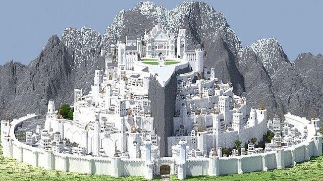 Osgiliath - Ancient Capital of Gondor Minecraft Project