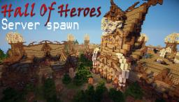 Hall of Heroes - Nordic Server Spawn Minecraft Map & Project