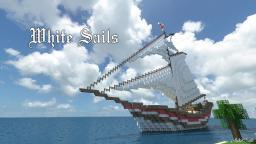 White Sails - Ship [ Classic ] Minecraft