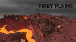 Custom Terrain - Firey Plains Minecraft Map & Project