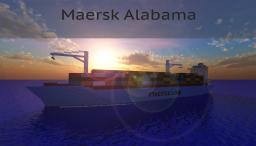 Maersk Alabama [1:1 Scale Model] Minecraft