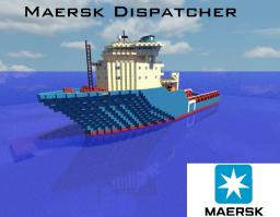Maersk Dispatcher [1:1 Scale  Supply Ship!] Minecraft