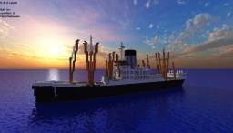 SS Lycaon A Minecraft CargoShip