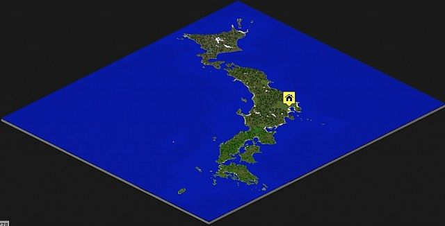 South America Minecraft Map Map Usa Map Images - Japan map minecraft