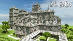 St. John, Yet Another Cathedral Minecraft Map & Project
