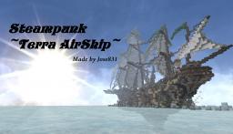 Steampunk ~Terra AirShip~ Minecraft Map & Project