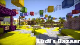 Ludi's Bazaar Minecraft Map & Project