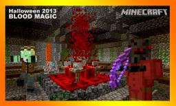 Blood Magic, Altar of the Blood god: a happy Minecraft Halloween 2013