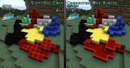 SixtyGig - Connected Ore Blocks Patch Pack Minecraft Texture Pack