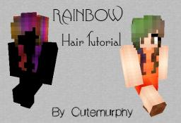 Rainbow Hair Tutorial Minecraft Blog Post
