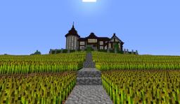 Wheat field Mansion Minecraft