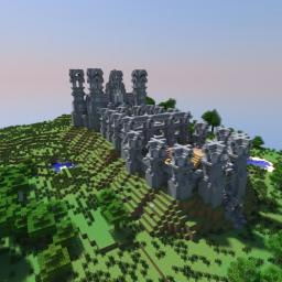 Hill castle Minecraft Map & Project