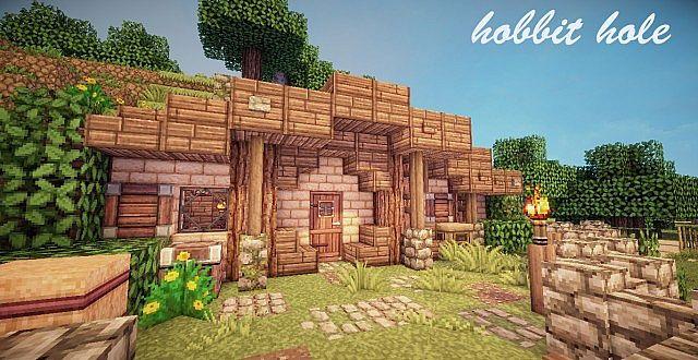 hobbit hole minecraft