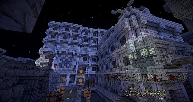 The walking dead 1 7 adventure map minecraft project for Crafting dead server download