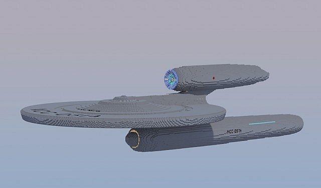 USS Kelvin (NCC-0514) Minecraft Project