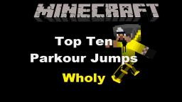 Top ten Jumps Parkour, objective 1k Minecraft Map & Project
