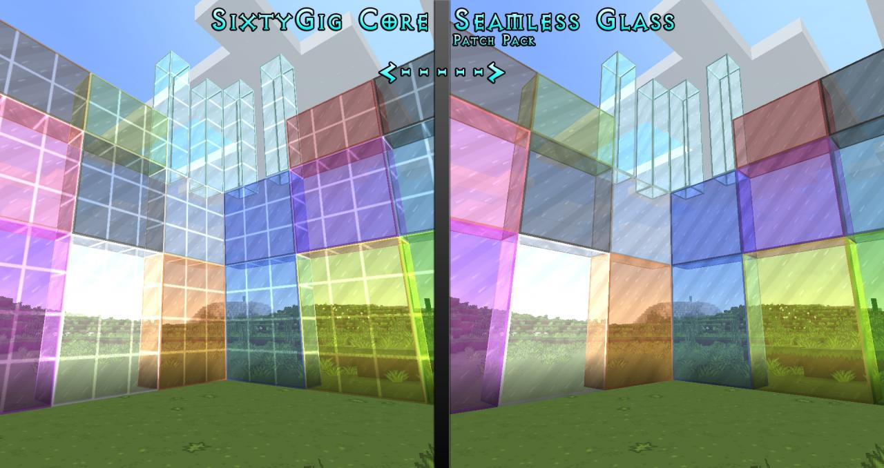 Seamless Clear Glass Textures Texture Pack Details