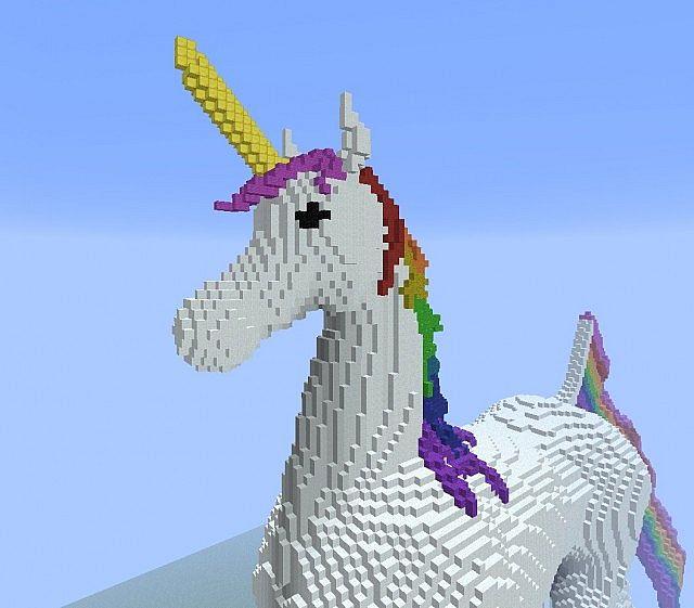 Rainbow Unicorn Minecraft Project