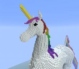 Rainbow Unicorn Minecraft
