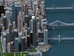 City of Tranton (North American Metropolis Project) Minecraft Map & Project