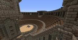 (Kinda) Roman/Greek Theatre Minecraft Map & Project
