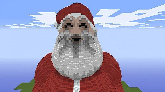 Christmas Pixel Art Minecraft Santa Pixel Art Minecraft
