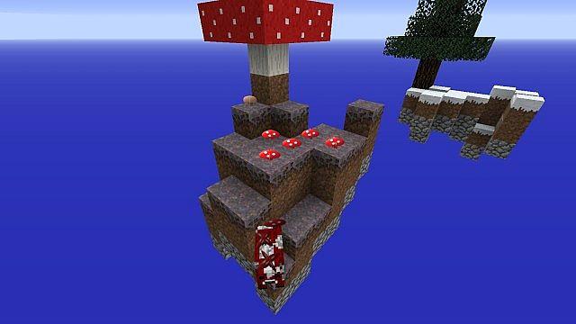 how to get mushroom in skyblock