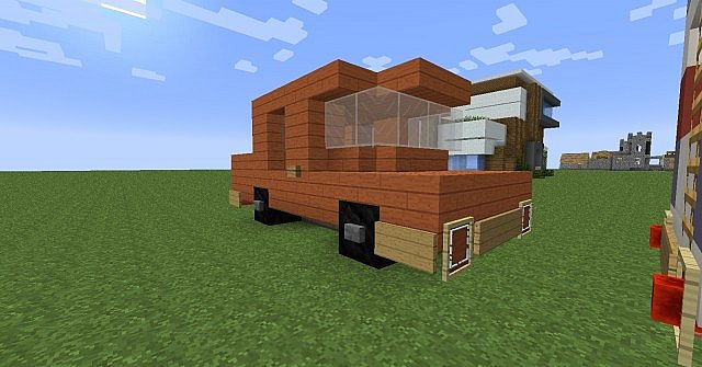 More awesome minecraft cars project