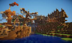 Update on my RPG / showcase server (My town - Paarka) Minecraft Project