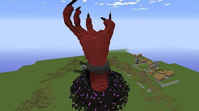 Trigon Father Of Raven The Devil 3d Pixel Art Minecraft