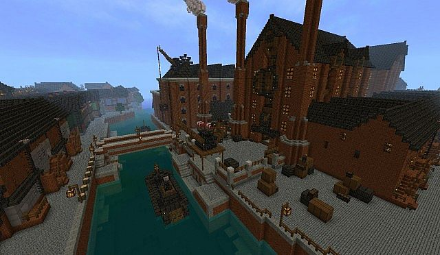 minecraft use map with Fable 3 Bowerstone Industrial on Desert Village Wstendorf as well Crystal Mall together with Watch additionally Graffiticraft besides How Can I Enter The Dome Of A Biolab.