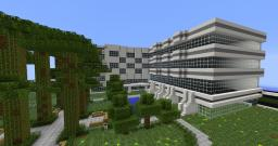 Modern Plaza 1.7 Minecraft Map & Project