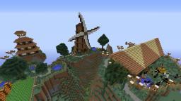 Moutaintop Ranch/farm Minecraft Map & Project