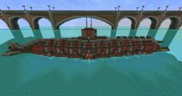 Steampunk Submarine - Garfish Class Minecraft Map & Project