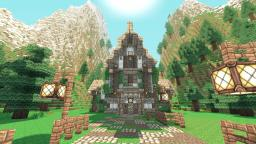 Snowy Mountain Tavern Minecraft Map & Project